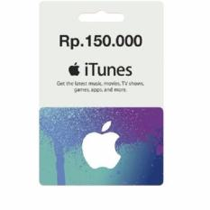 iTunes Gift Card Rp 150.000,-