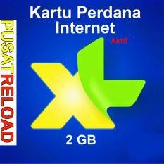Perdana Internet XL Kuota 2 GB Aktif 2 Bulan