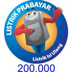 PLN Token Prabayar 200.000 (Masukkan ID Meter di Kolom Alamat)