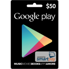 Smartpay Google Play Gift Card Region US $50
