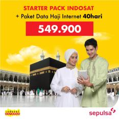 Starter Pack Indosat & Paket Data Haji Internet 40 Hari