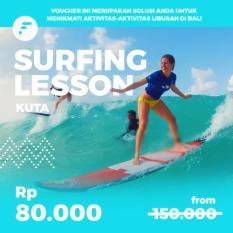 Voucher Kelas Surfing di Kuta (Discount 45%) watersport