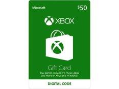 XBox Live Digital Card $50 US