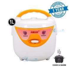 Airlux Magic Rice Com 3in1 Penanak Nasi Serbaguna RC-210 - Putih Orange