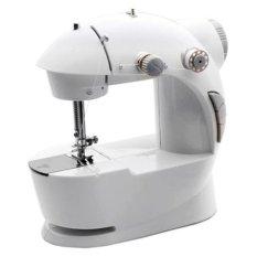 AIUEO Mini Sewing Machine 4 In 1 No Adaptor - Putih