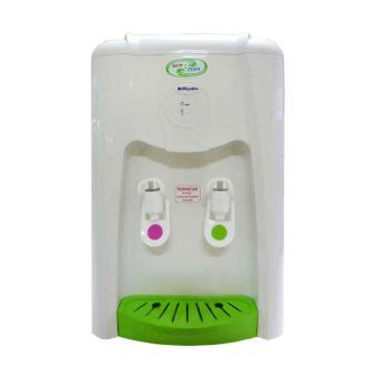 Detail produk dari Miyako WD-290 HC Water Dispenser - Putih/Hijau