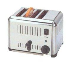 Getra EST-4 Slot Toaster / Mesin Pemanggang Roti 4 Slot - Silver - Gratis Ongkir SEJABODETABEK