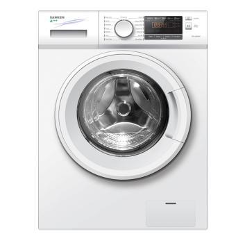 Sanken SFL-9000W Mesin Cuci Front Load 8Kg (Putih) - Khusus JABODETABEK