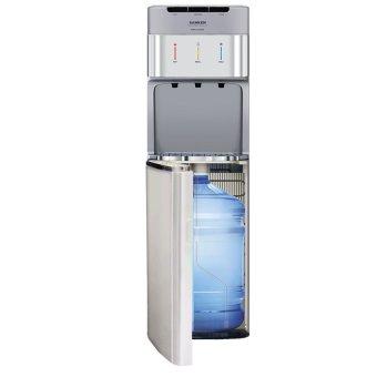 Sanken HWD-C200 - Water Dispenser - Galon Bawah - Abu-abu - Khusus Jabodetabek