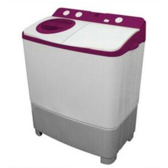 Polytron - Mesin Cuci 2 Tabung 7 Kg PWM7556 - Purple