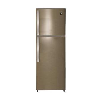 Sharp - Refrigerator 2Pintu 338Lt Silver