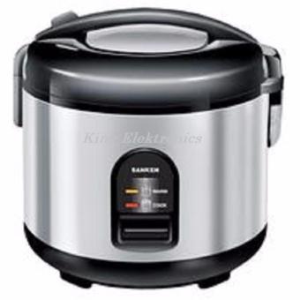 Sanken Magic Com, Magic Jar, Rice Cooker, Penanak Nasi 1.8 Liter Stainless Steel – SJ2100