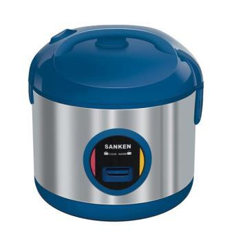 Sanken Rice Cooker SJ 3030BL Stainless - Biru