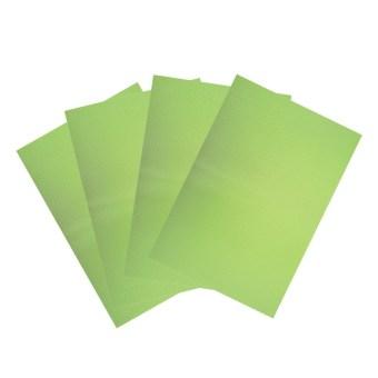 4 pcs 29cm*45cm Antibacterial Refrigerator Pad (Green)