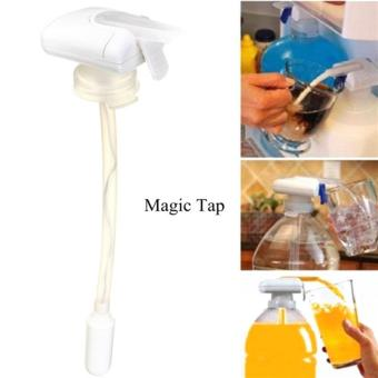 Magic Tap Automatic Electric Drink Pumping Device / Pompa Minuman - White