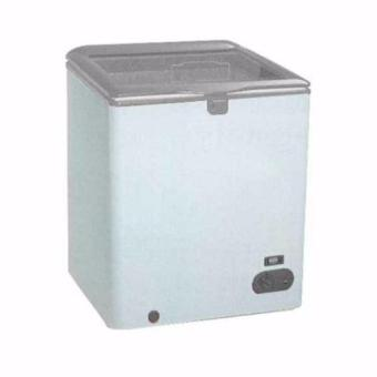 GEA SD-100F Chest Freezer Lift Up Glass Door 100L - Putih (Khusus Jabodetabek)