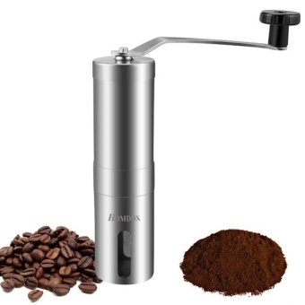 Beli Cyber Manual Coffee Grinder keramik berbentuk kerucut duri yang dapat disesuaikan untuk secara konsisten buatan