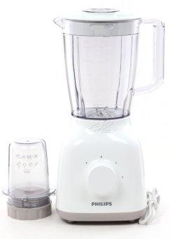 Philips Blender Plastik 1.5 Liter HR2102 - Putih - Gratis Pengiriman Bali, Surabaya, Mojokerto, Kediri, Madiun, Jogja, Denpasar