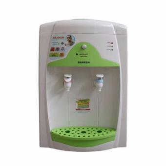 Sanken HWN-656W Table Dispenser - White-Green