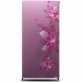 Sharp Kulkas One Door - SJ-N181D FP - Pink - Khusus Jabodetabek