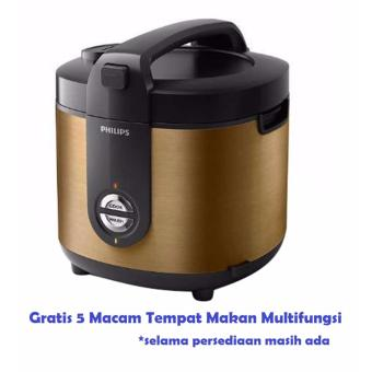 Philips HD3128 Rice Cooker Jar Pro Ceramic 2 Liter - Magic Com GOLD