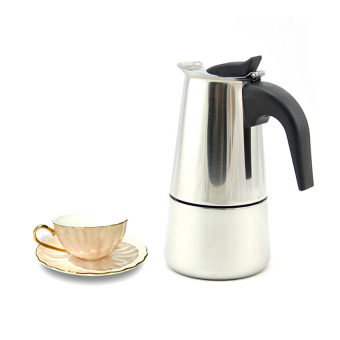 Stainless Steel Moka Espresso Latte Coffee Maker - intl
