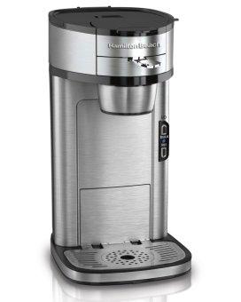 Hamilton Beach 49981A Single Serve Scoop Coffee Maker (Silver)