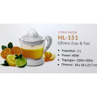 beli Heles Citrus Juicer HL 151 / Alat Peras Jeruk ( Garansi Resmi Heles )