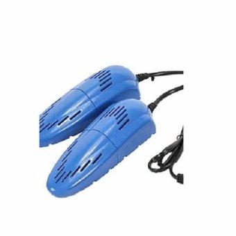 Es008 Alat Pengering Sepatu Anti Bau Jamur Colok Listrik / Shoes Dryer - Biru
