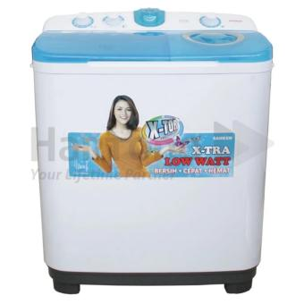Sanken - Mesin Cuci 2 Tabung 7.5kg TW-9880 - Putih