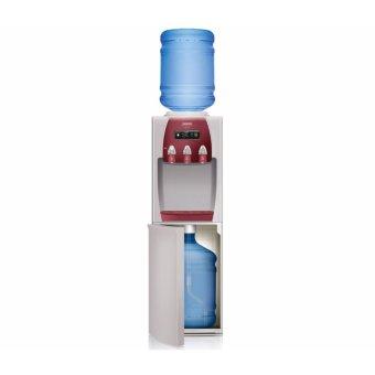 Sanken HWD-Z89 Duo Gallon Dispenser - Gray-Red