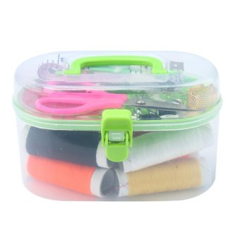 jaxuzha Professional Sewing Supplies Sets Tailor Sewing Kits,Multi Color - intl
