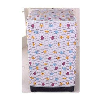 Sarung Mesin Cuci Cover 2 Tabung Kuning Bunga Buka Atas Anti Air Source · Harga Sakura Cover Mesin Cuci Buka Depan Motif Kerang Laut