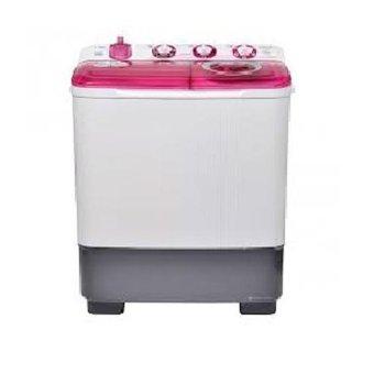 Sanken TW-8700 Mesin Cuci Twin Tub 7kg Merah/Ungu