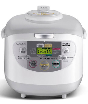 Hitachi - Rice Cooker RZVMC10YGWH - Putih