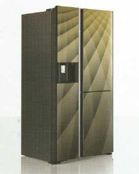 Hitachi Kulkas Side By Side Luxury Series R-M80AGPGD4XDIA - Diamond - Khusus Area Jadetabek