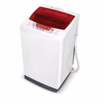 Sanken AW-S830MR Mesin Cuci Top Loading 7 kg - Putih Merah (Khusus Jabodetabek)