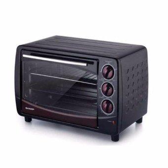 SHARP Microwave Oven + Grill 28 L - EO-28LP(K) - Hitam - Khusus Jabodetabek