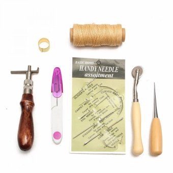 Universal Set Peralatan Jahit Leather Craft Hand Stitch Sewing Tool -Multicolor