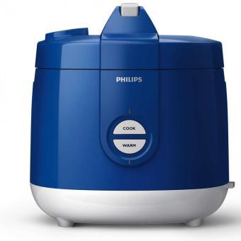 Philips Rice Cooker HD3127/31 - Putih-Biru