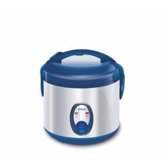 Sanken SJ-120SP Rice Cooker 1L - Blue KHUSUS JABODETABEK