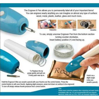 PROMO......Engrave Alat Ukir Portable Segala Bahan ELEGAN