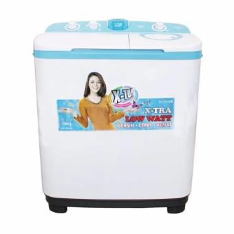 Sanken - Mesin Cuci 2 tabung - TW 9770 - Putih