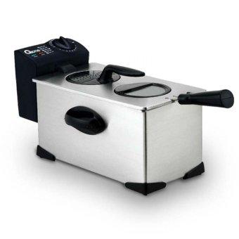 Oxone Deep Fryer Ox-989 - Alat Penggoreng Elektrik - Abu abu