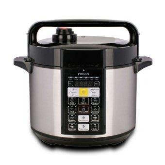 Philips Electric Pressure Cooker HD2136 - Hitam Silver