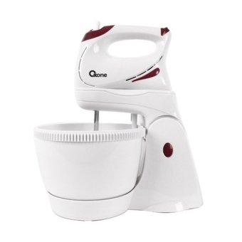 Oxone Hand Mixer with Bowl - OX 833 Putih