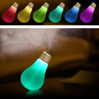 Usb Bulb Humidifier Pelembab Udara Aromatherapy Model Lampu