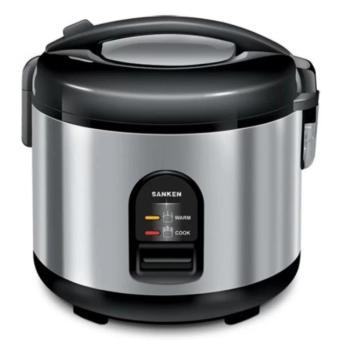 Sanken SJ-150 Rice Cooker 1.2L - Hitam-Silver
