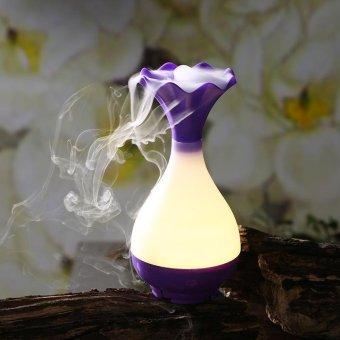 Magic Bottle Night Light Air Humidifier Aroma Therapy - Ungu