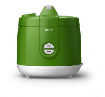 Philips Rice Cooker HD 3127 /30 - 2 Liter - Hijau